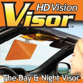 HD Vision Visor Turns Your Visor into High Definition the Day or Night