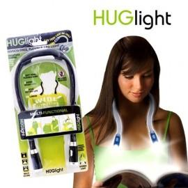 Huglight LED Light Handsfree Hug Neck Reading Book Light