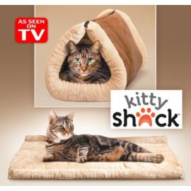 Kitty Shack Keeps Your Cat Warm and Cozy