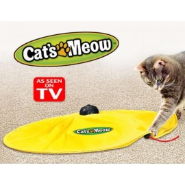 Cats Meow Play Toy Keeps Your Kitty Entertained All Day Long