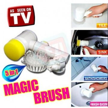 5 In 1 Magic Brush Battery Operated Easy Operation