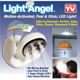 Light Angel LED Motion Activated Sensor Night Light Cordless