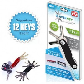 Clever Key Key Organizer Perfect Solution to Get Rid of Your Bulky Keys