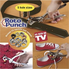 Roto Punch Adds Holes to Straps Dog Collars Belts and More