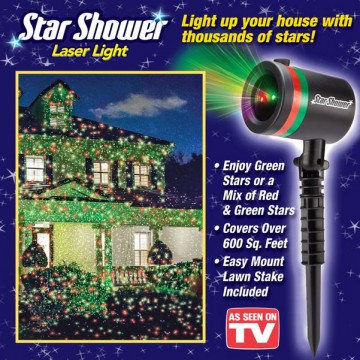 Star Shower Laser Christmas Light Light Up Your House with Thousands of Stars