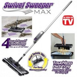 Take Your Cleaning Experience to The Max with Swivel Sweeper Max