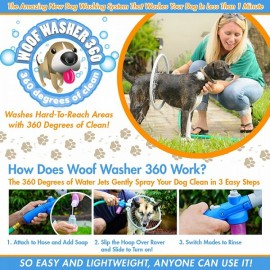Woof Washer 360 Pet Cleaning Perfect Dog Washing Station for Your Dog