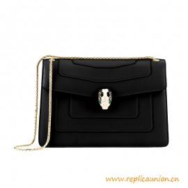 Top Quality Serpenti Forever Flap Cover Bag