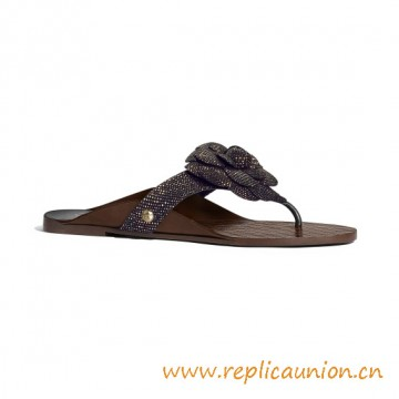 Top Quality Goatskin Open Toe Sandals Black and Red