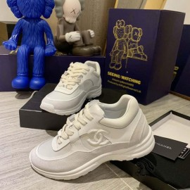 Top Quality Sneakers Fabric Suede Calfskin