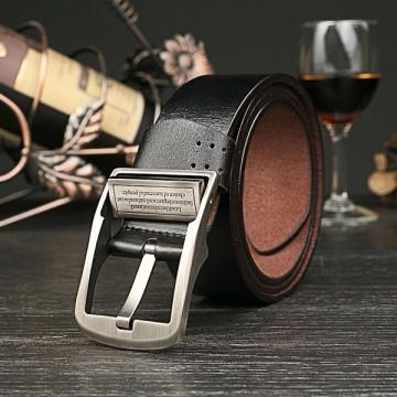 Leather Belt Mens Leather antique jeans Belt Fashion Casual Belt