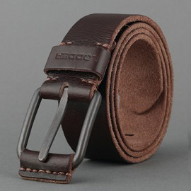 LEDDER 04 Export Leather Belt Italy First Layer Calfskin Belt
