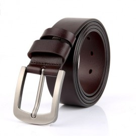Pin Buckle Belt Men's Belt Leather First layer Leather Belt Wholesale