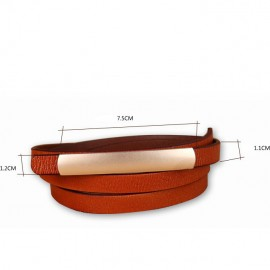 Platy Hot Sale Export Second Layer Leather Belt for Women