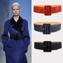 Women 's Leather Waist Girdle Wide Leather Belt Wholesale