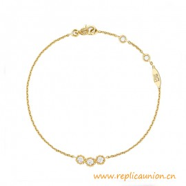 Top Quality Mimirose Bracelet 18K Gold Plated and Diamonds