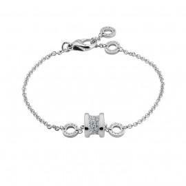 B.zero1 Bracelet Set with Pavé Diamonds on the Spiral