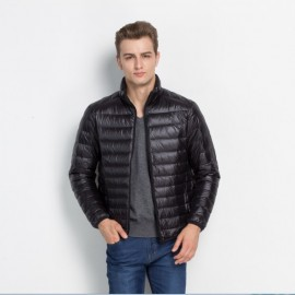 Men's Collection Light Vertical Collar Quality Down Jackets