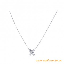Top Quality Jeux de Liens Pendant Gold Brilliant-cut Diamonds