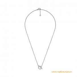 Top Quality Finesse Pendant with Diamonds with Snap Closure