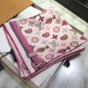 Original Design Quality A La Folie Square Silk Scarf