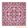 Original Design Quality Angels Square Silk Scarf Pink