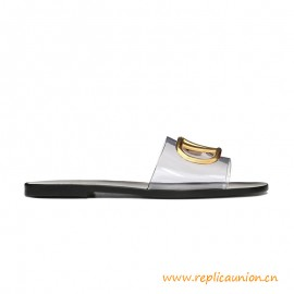 Original Design Princetown G Canvas Slipper Leather Sole