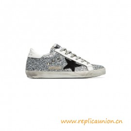 Top Quality Hi Star Superstar Sneakers with Glitter