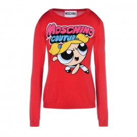 Original Qaulity Women's Powerpuff Girl Cardigan Red