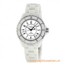 Original Quality J12 White Ceramic 38mm Automatic Midsize Watch H0970