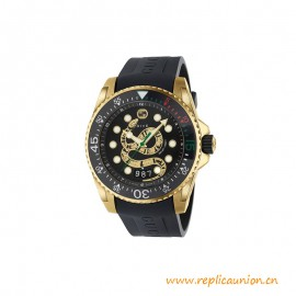 Quality Dive Watch 45mm with the Kingsnake Motif