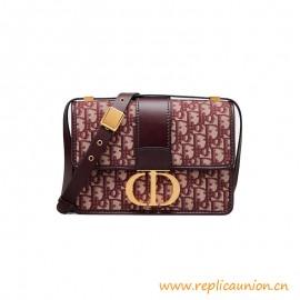 Top Quality 30 Montaigne Oblique Calfskin Bag