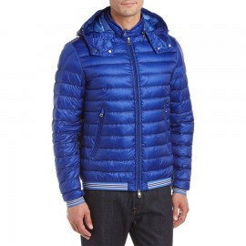 Men's Vidal Detachable Hood Quilted Down Jacket