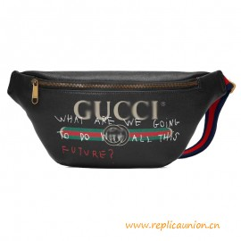 Top Quality Coco Capitn G Logo Leather Belt Bag