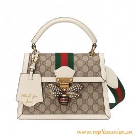 Top Quality Queen Margaret Small Top Handle Bag