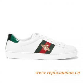 Original Design Quality Ace Embroidered Low-top Sneaker