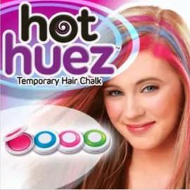 Hot Huez Temporary Hair Chalk Set of 4