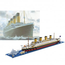 Original Titanic replica Ship NanoBlocks Micro Diamond DIY Educational Toys