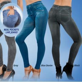 Hot sale Genie slim jeggings 3pcs/lot women leggings,jeans leggings for women