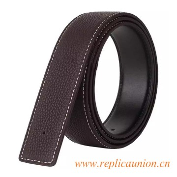Original Design Best Qaulity Clemence Calfskin Leather Belt without H Buckle