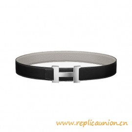 Top Quality Constance Reversible Belt 38mm Buckle in Palladium Plated