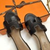 "Authentic Design Oasis Sandals in Calfskin Leather Sole 1.9"" Stacked Heel"