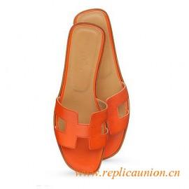 Sandalia naranja Oran de Original para mujer en Box