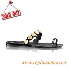 Original Nightfall Flat Thong Patent Calf Leather Sandal Women