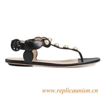 Original Quality Womens Sandals Leather Thong Sandal