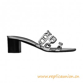 """Top Quality Tandem Sandal in Calfskin with """"Chaine d'Ancre"""" Motif"""
