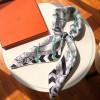 Original Design Quality Panoplie Equestre Scarf 90 Hand rolled Edges