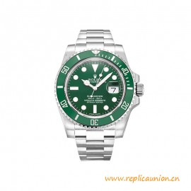 Top Quality Submariner Date 904L Stainless Steel Green Dial Watches