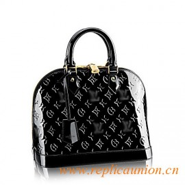 Original Design Alma PM Monogram Vernis Leather Handbag