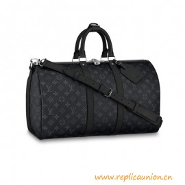 Top Quality Keepall Bandoulière Monogram Eclipse Canvas